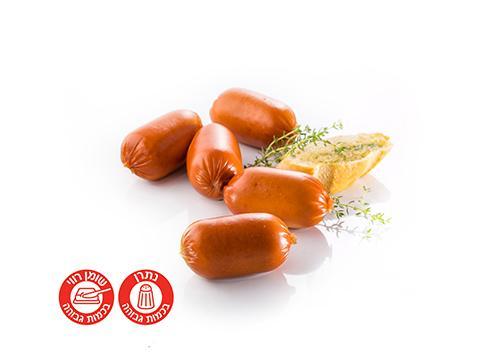 נקניקיות פרנקפורטר בקר