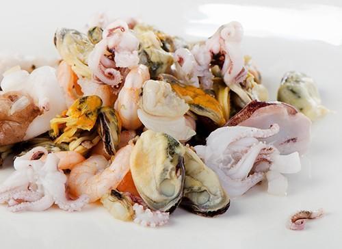 קוקטייל פירות ים
